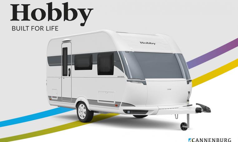 Hobby ONTOUR 390 SF model 2022 Cannenburg Front
