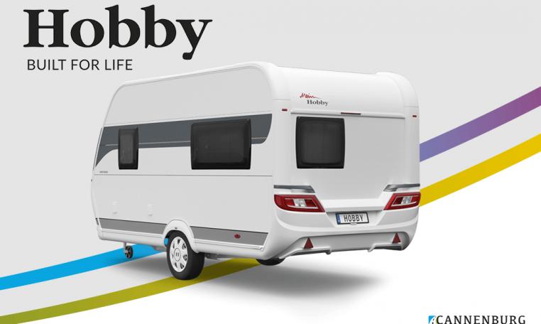 Hobby ONTOUR 390 SF model 2022 Cannenburg Rear