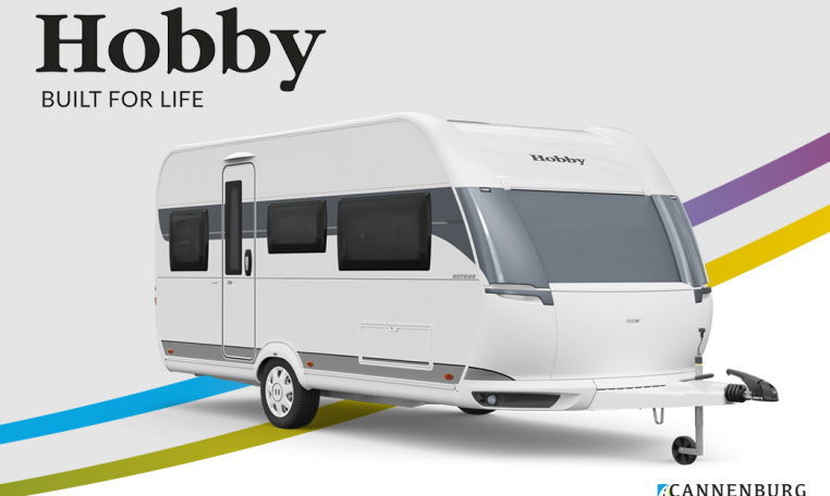 Hobby ONTOUR 460 DL model 2022 Cannenburg Front