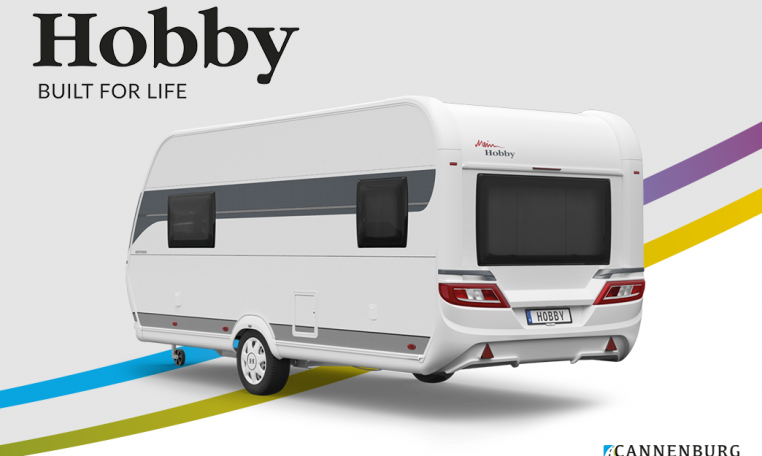 Hobby ONTOUR 460 DL model 2022 Cannenburg Rear