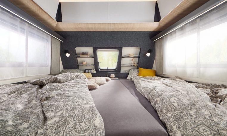 Hobby 495 UL MAXIA model 2022 interieur binnenkant cannenburg3