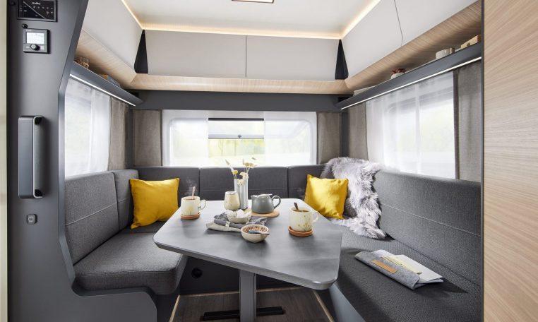Hobby 495 UL MAXIA model 2022 interieur binnenkant cannenburg13