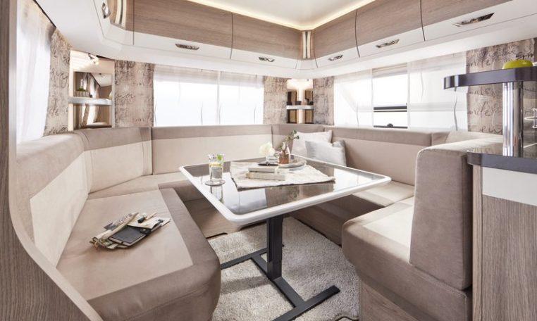 Hobby 620 CL Prestige model 2022 interieur binnenkant cannenburg