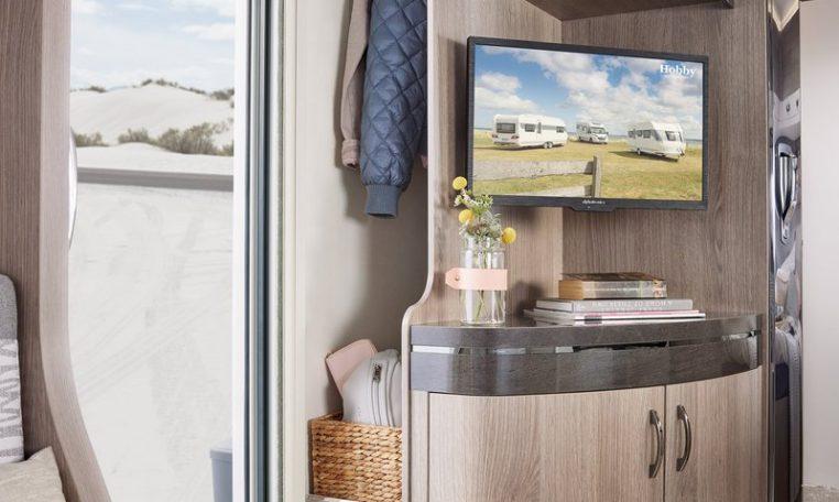 Hobby 720 KWFU Prestige model 2022 interieur binnenkant cannenburg
