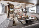 Hobby 720 KWFU Prestige model 2022 interieur binnenkant cannenburg3