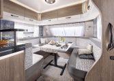 Hobby 720 WQC Prestige model 2022 interieur binnenkant cannenburg 1
