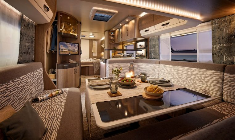 Hobby 720 WQC Prestige model 2022 interieur binnenkant cannenburg5