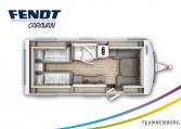 Fendt Bianco Active 515 SGE model 2022 plattegrond bedden slapen