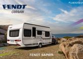Fendt Saphir caravan achtergrond