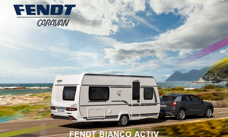 Fendt bianco activ buitenkant caravan