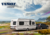 Fendt bianco selection buitenkant caravan