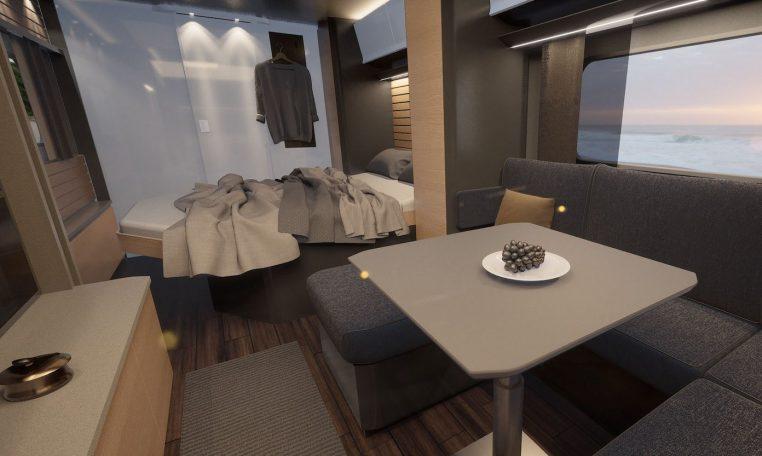 Hobby 660 WQM MAXIA model 2022 interieur binnenkant cannenburg6