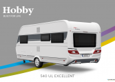 Hobby Excellent 540 UL model 2022 Cannenburg Back buitenkant