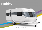 Hobby Excellent 540 UL model 2022 Cannenburg Front buitenkant