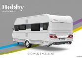 Hobby Excellent 540 WLU model 2022 Cannenburg Back buitenkant