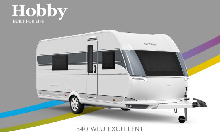 Hobby Excellent 540 WLU model 2022 Cannenburg Front buitenkant
