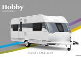 Hobby Excellent 560 CFe model 2022 Cannenburg Front buitenkant
