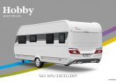 Hobby Excellent 560 WFU model 2022 Cannenburg Back buitenkant