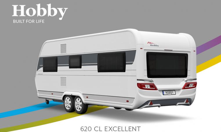 Hobby Excellent 620 CL model 2022 Cannenburg Back buitenkant