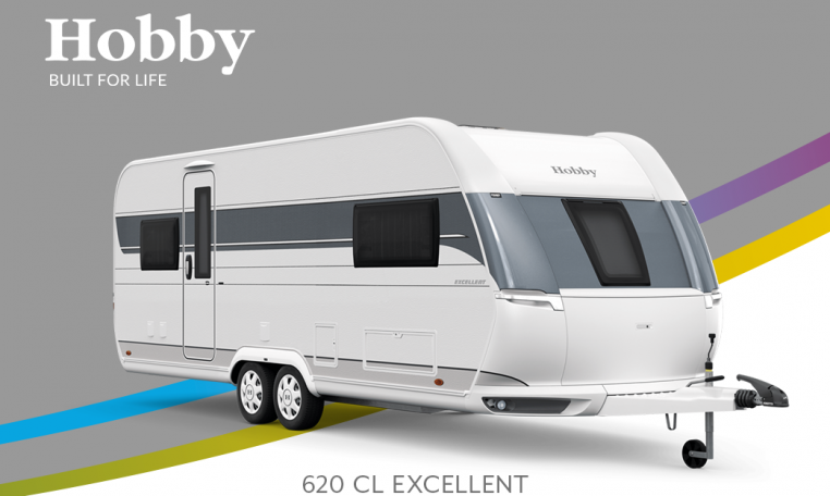 Hobby Excellent 620 CL model 2022 Cannenburg Front buitenkant