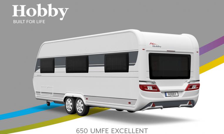 Hobby Excellent 650 UMFe model 2022 Cannenburg Back buitenkant