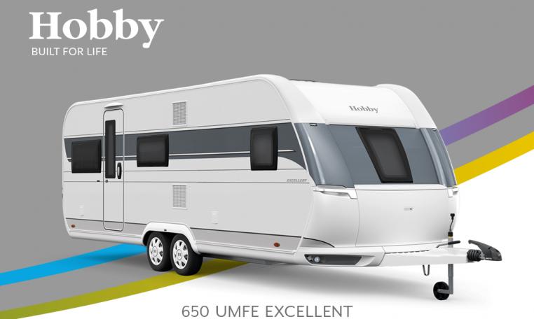 Hobby Excellent 650 UMFe model 2022 Cannenburg Front buitenkant