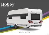 Hobby MAXIA 495 UL model 2022 Cannenburg Back buitenkant