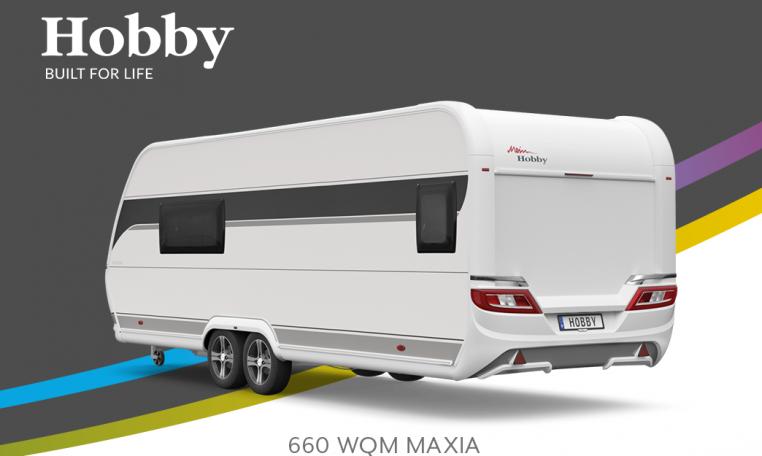 Hobby MAXIA 660 WQM MAXIA model 2022 Cannenburg Back buitenkant