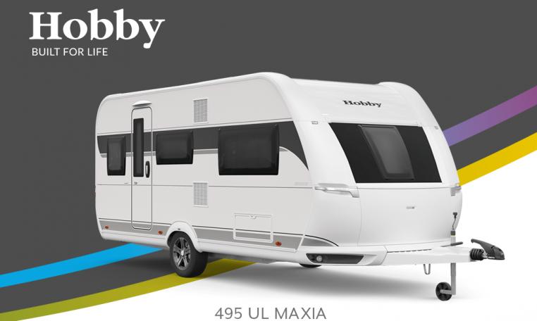 Hobby Maxia 495 UL model 2022 Cannenburg Front buitenkant