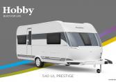 Hobby Prestige 540 UL model 2022 Cannenburg Front buitenkant