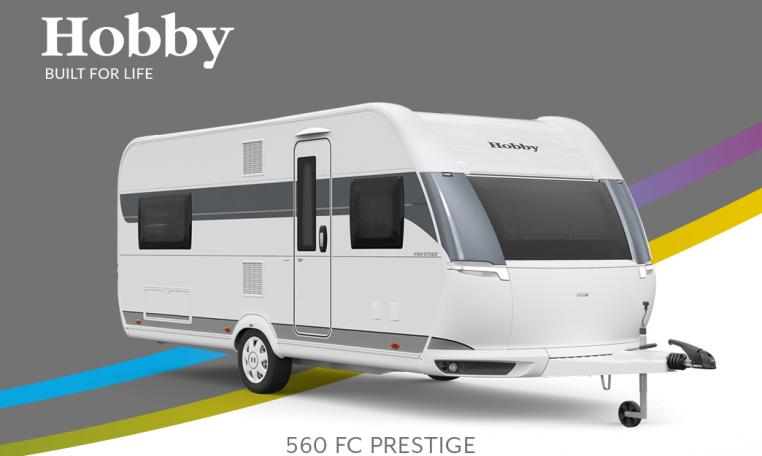 Hobby Prestige 560 FC model 2022 Cannenburg Front buitenkant