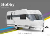 Hobby Prestige 560 UL model 2022 Cannenburg Front buitenkant