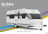 Hobby Prestige 560 WFU model 2022 Cannenburg Front buitenkant2