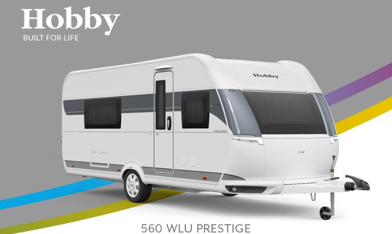 Hobby Prestige 560 WLU model 2022 Cannenburg Front buitenkant2