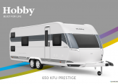 Hobby Prestige 650 KFU model 2022 Cannenburg Front buitenkant