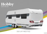 Hobby Prestige 650 UFf model 2022 Cannenburg Back buitenkant