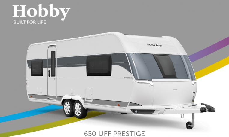 Hobby Prestige 650 UFf model 2022 Cannenburg Front buitenkant