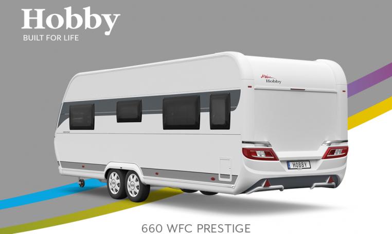 Hobby Prestige 660 WFC model 2022 Cannenburg Back buitenkant