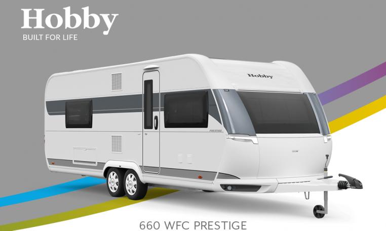 Hobby Prestige 660 WFC model 2022 Cannenburg Front buitenkant