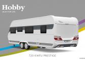 Hobby Prestige 720 KWFU model 2022 Cannenburg back buitenkant