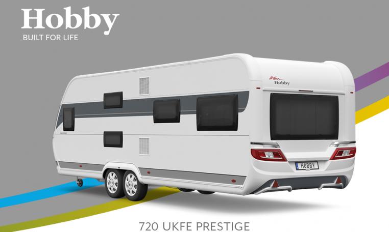 Hobby Prestige 720 UKFe model 2022 Cannenburg Back buitenkant