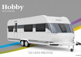 Hobby Prestige 720 UKFe model 2022 Cannenburg Front buitenkant