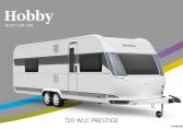 Hobby Prestige 720 WLC model 2022 Cannenburg Front buitenkant