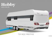 Hobby Prestige 720 WQC model 2022 Cannenburg Back buitenkant
