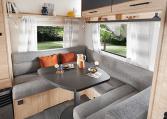 Caravelair Alba Style 430 modeljaar 2022 interieur 3