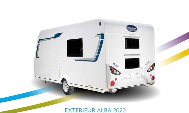 Exterieur Caravelair Alba back 2022