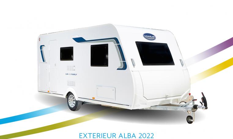 Exterieur Caravelair Alba front 2022