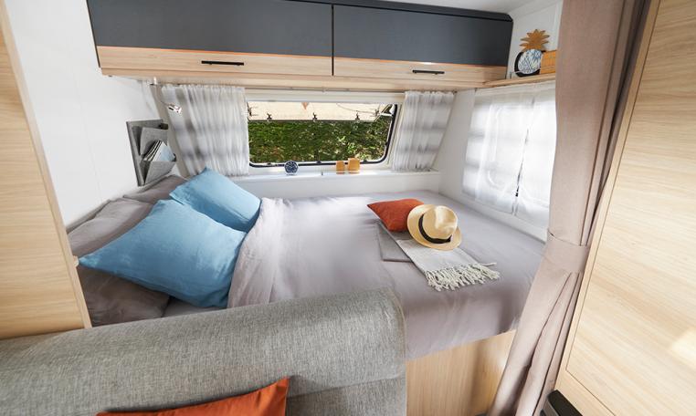 Caravelair Alba Style 466 modeljaar 2022 interieur 2