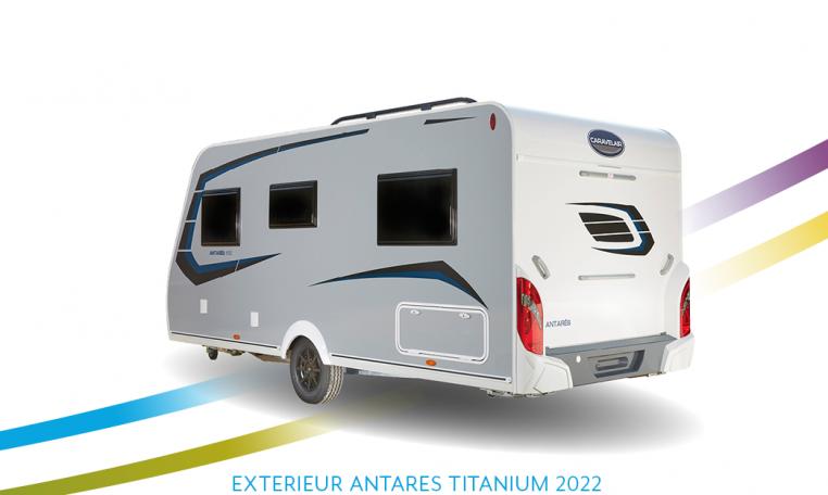 Caravelair Antares Titanium exterieur back 2022