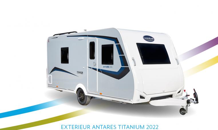 Caravelair Antares Titanium exterieur front 2022